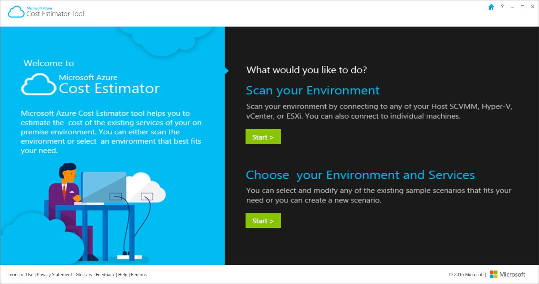 Microsoft Azure Cost Estimator Tool Build Azure