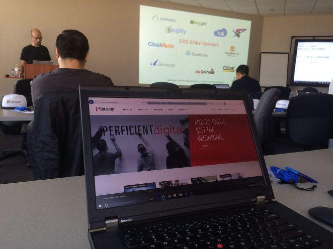 2016MkeGlobalAzureBootcampPrft