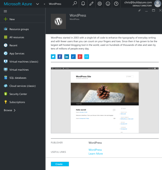 AzureMarketplaceWordpress