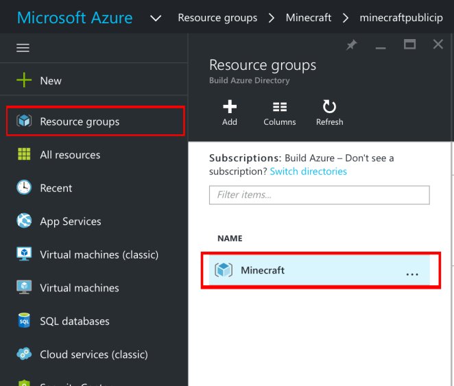 Tutorial: Create Minecraft Server In Azure On An Ubuntu VM