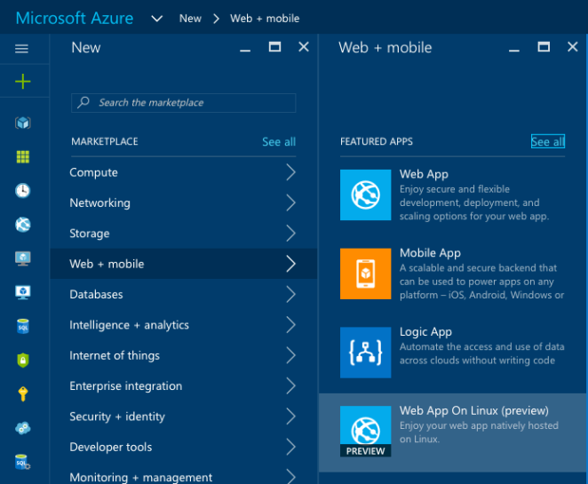 azureportal_new_webapponlinux